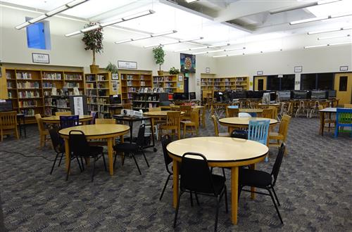Photo of Gresham High School Library