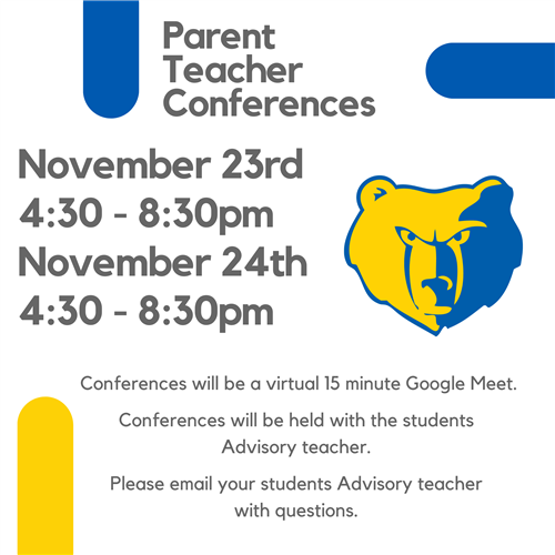 Conferences Nov. 23 and 24