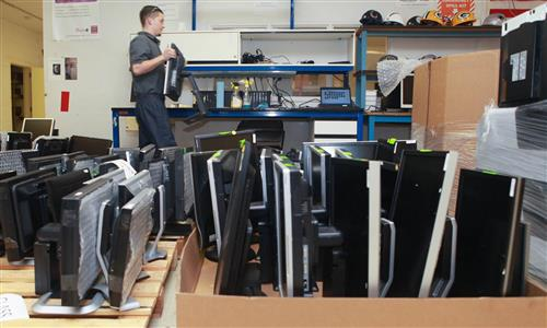 Image of packing computers