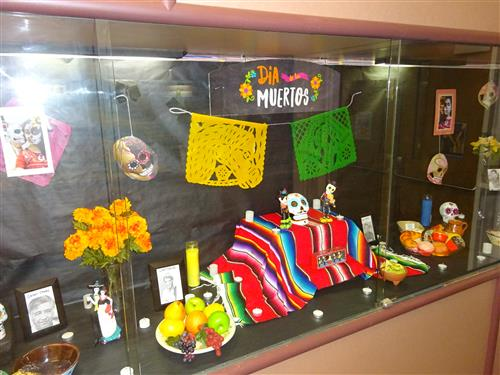 Image of Day of Dead Display