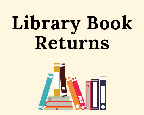 Image of Library Book return logo