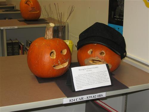 Image of Literary Pumpkins 2018
