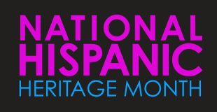 Image of National Hispanic Heritage Month Logo
