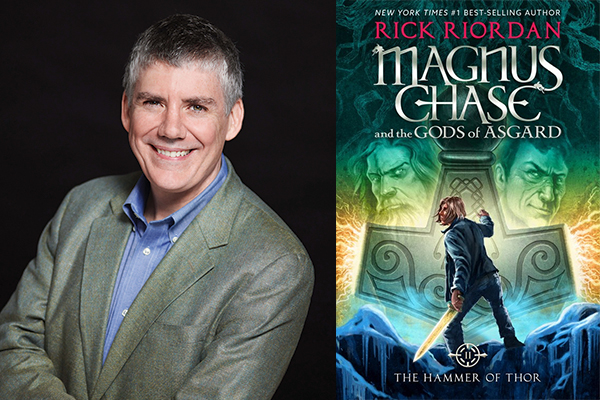 Image of author Rick Riordan