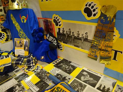 Photo of Barlow History display