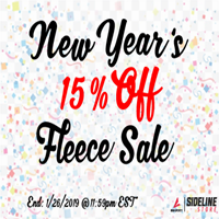 15 Percent Off Fleece