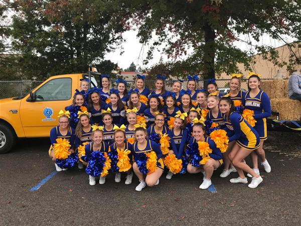 Cheer at Teddy Bear Parade