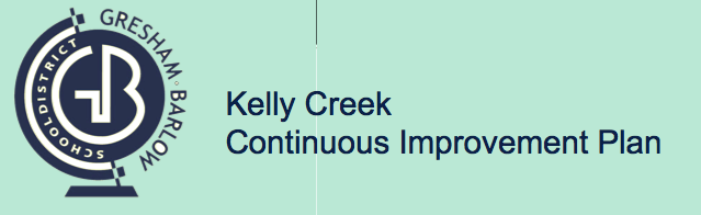 Kelly Creek Continuous Improvement Plan