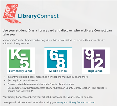 Library Connect