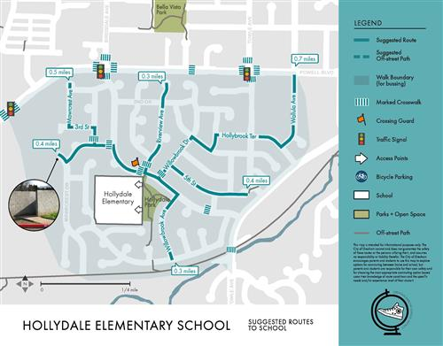 Hollydale walk routes