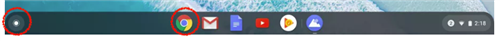 Chrome Task Bar