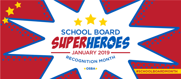 January is School Board Recognition Month in Oregon